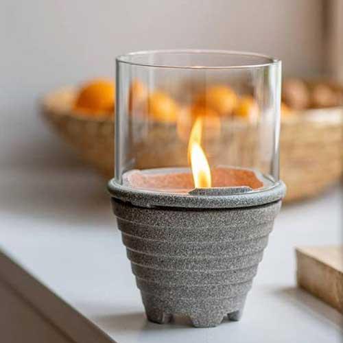 Indoor Granicium mit Windglas